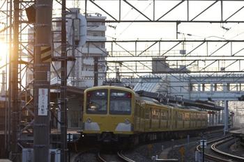 2011年11月4日、西所沢、281F+287Fの6106レ。