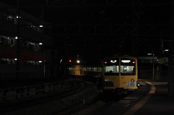2011年11月17日、西所沢、6187レの1241F。