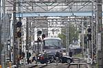2011年11月18日 12時39分頃、高田馬場~下落合、10104Fの遅れの113レ。