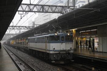2011年11月19日 11時6分頃、池袋、EF65-1040牽引の2077レ。