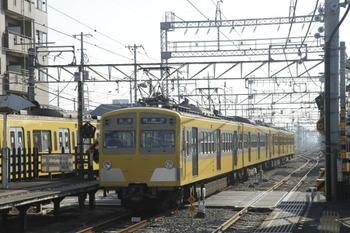 2011年11月24日10時6分頃、西所沢、2番ホームから引き上げ線へ進む271F+281F。