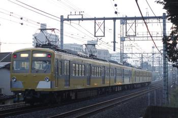 2011年12月7日 6時41分頃、西所沢~小手指、271F+281Fの上り回送列車。