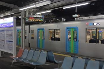 2020年11月2日。西所沢。到着した40104FのS-TRAINの507レ。