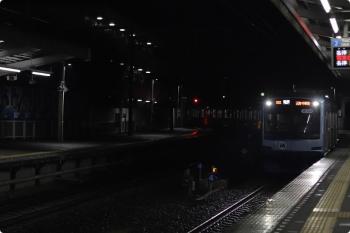 2020年11月2日 22時17分ころ。西所沢。到着するY51Fの8504レ。