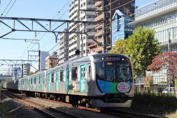 2020年11月4日。高田馬場〜下落合。40152F(カナヘイ)の2332レ。