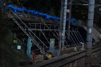 2020年11月16日。秋津〜所沢駅間。
