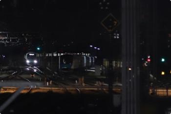 2020年11月17日。所沢。左奥から、38112Fの5204レ、電留線で寝ている40153F、起き出した2079F。