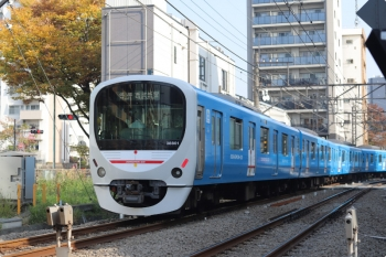 2020年11月18日。高田馬場〜下落合。38101Fの5618レ。