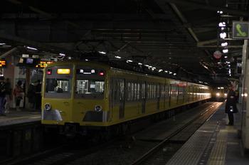 2012年1月13日、所沢、271F+1309Fの2166レ。