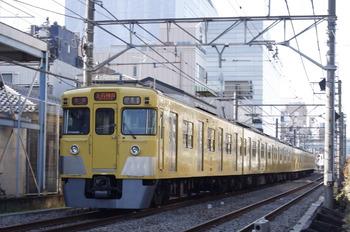 2012年1月17日、高田馬場~下落合、2021Fの5029レ。
