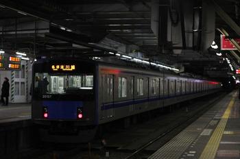 2012年1月17日、所沢、20157Fの5603レ。