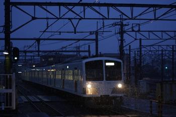 2012年1月20日 6時44分頃、所沢、1259Fの新宿線・上り回送列車。