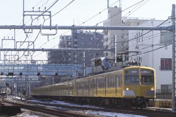 2012年1月25日 10時46分頃、保谷、271F+1309Fの下り回送列車。