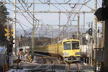 2012年1月25日、稲荷山公園、1309F+271Fの2510レ。
