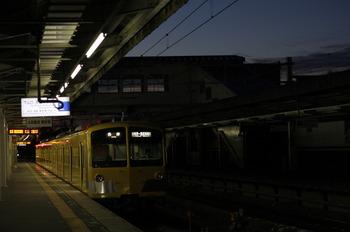 2012年1月30日、西所沢、6105レの1241F。