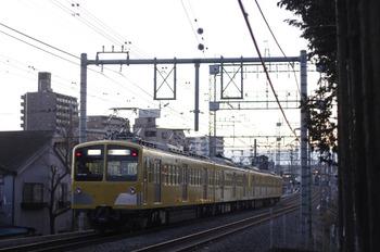 2012年2月2日 6時40分頃、西所沢~小手指、281F+285Fの上り回送列車。