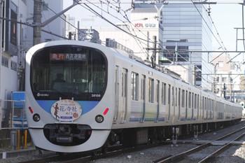 2012年2月19日、高田馬場~下落合、38108Fの2105レ。