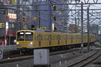 2012年2月26日 17時20分頃、所沢、6番線へ入る285F+281Fの上り回送列車。