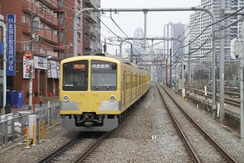 2012年3月4日、高田馬場、1303Fの2312レ。