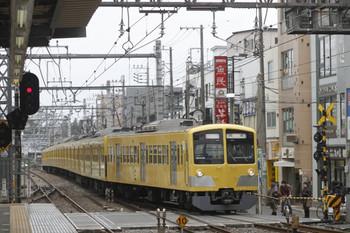2012年3月4日 10時39分、ひばりが丘、1309Fの上り回送列車。