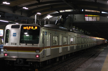 2012年3月5日、ひばりが丘、メトロ7018Fの10M運用6439レ。