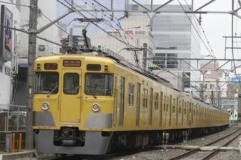 2012年3月11日、高田馬場~下落合、2419F+2019Fの5805レ。
