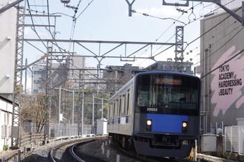 2012年3月12日、高田馬場~下落合、20152Fの5029レ。