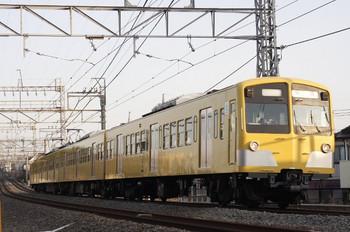 2012年3月16日 6時41分頃、西所沢~小手指、1241Fの上り回送列車。