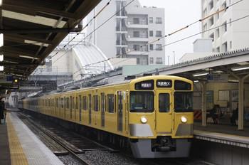 2012年3月17日、椎名町、2063Fの1007レ。