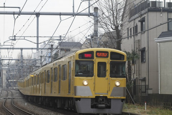 2012年3月18日、池袋~椎名町、2097Fの1007レ。