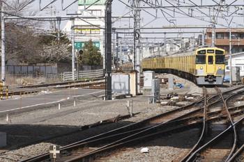 2012年3月20日、所沢、新宿線から池袋線へ進む2545F+2507Fの7602レ。