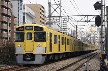 2012年3月28日、高田馬場~下落合、2451F+2095Fの2640レ。