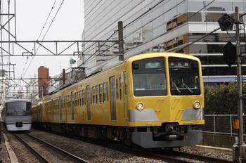 2012年3月30日 12時36分頃、高田馬場~下落合、295F+1303Fの準急 本川越ゆき。