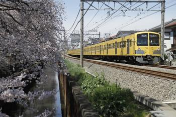 2012年4月7日、武蔵関~東伏見、1303Fの5814レ。
