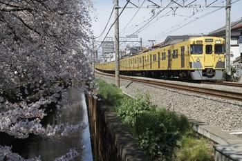 2012年4月7日、武蔵関~東伏見、2029F+2531Fの2316レ。