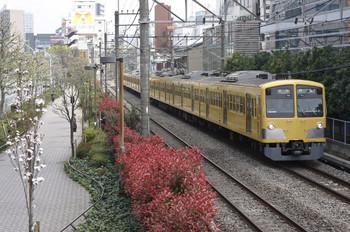 2012年4月17日、高田馬場~下落合、5319レの1303F。