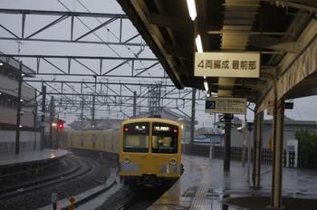 2012年5月3日、西所沢、発車した281F+285Fの6103レ。