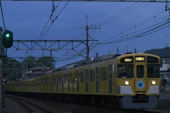 2012年5月4日 18時18分、元加治、9106Fの上り回送列車。