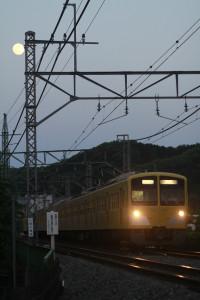 2012年5月5日 18時34分頃、仏子~元加治、1309Fの下り回送列車。