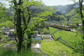 2012年5月5日11時4分頃、芦ヶ久保~横瀬、1309Fの臨時急行 西武秩父ゆき。