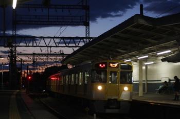 2012年5月10日、西所沢、2075Fほかの2170レ。