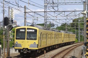 2012年5月12日 9時9分頃、西所沢、小手指車基へ回送される281F+285F。