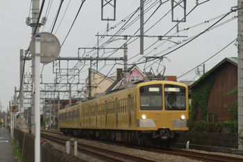 2012年5月20日 17時43分頃、所沢~西所沢、285F+271Fの下り回送列車。