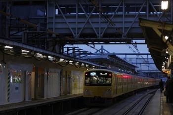 2012年5月23日、所沢、発車した3001Fの3306レ。