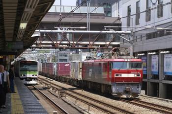 2012年5月27日 12時1分、高田馬場、EH500-42牽引の3086レ。