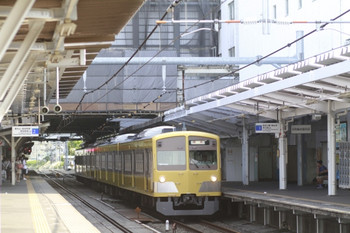 2012年5月27日 15時41分、所沢、1261Fの新宿線・下り回送列車。