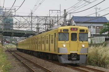 2012年6月2日 15時30分頃、東村山~所沢、2033Fの上り回送列車。