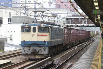 2012年6月16日、高田馬場、EF66-277牽引の2077レ。
