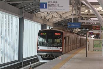 2012年6月23日、石神井公園、メトロ10031Fの西武球場前ゆき3607レ。