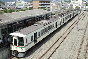 2012年8月17日 12時20分頃、西武秩父、「ライブ電車点検」で側扉を開けた4105F。